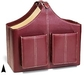 Faux Leather Magazine Rack Gourmet Corporate Chocolate Baskets