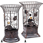 Wrought Iron Umbrella Stand Gourmet Corporate Basket