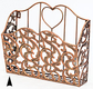 Wrought Iron File holder Gourmet Corporate Basket