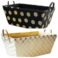 Fabric Storage Gourmet Corporate Chocolate Baskets