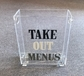 Custom Logo Take Out Menu Gourmet Corporate Basket